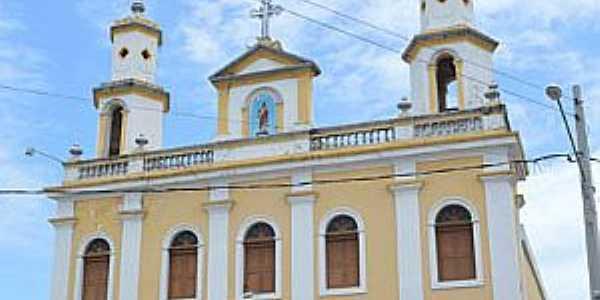 Cabedelo-PB-Matriz do Sagrado Coração de Jesus-Foto:www.pbtur.com.br