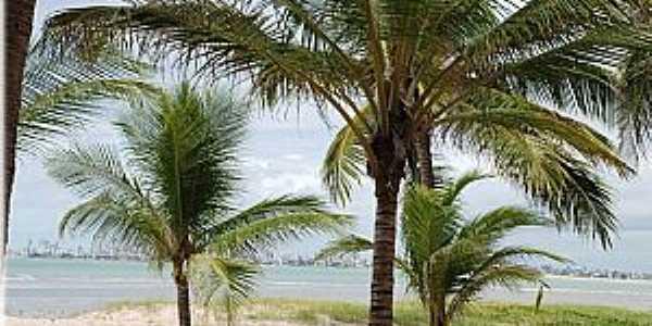 Cabedelo-PB-Praia de Ponta de Campina-Foto:walterfmota