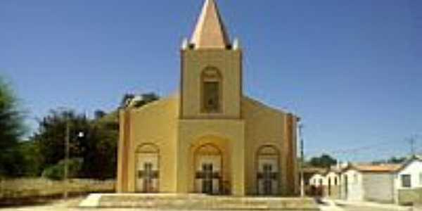 Cacimba de Areia-PB-Igreja do Sagrado Coração de Jesus-Foto:iscj-coracaodejesus.