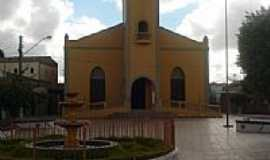 Cacimba de Dentro - Cacimba de Dentro-PB-Praça e Igreja Matriz de Santo Antônio-Foto:Cleyton Alexandre