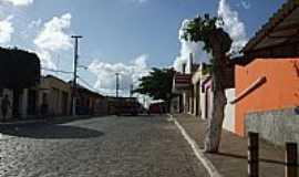 Cacimba de Dentro - Cacimba de Dentro-PB-Rua da cidade-Foto:wellington Rocha Bez…
