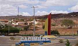 Cacimbas - Cacimbas-PB-Entrada da cidade-Foto:desterro1.com