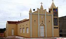 Cacimbas - Cacimbas-PB-Igreja Matriz-Foto:Egberto Araújo