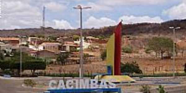 Cacimbas-PB-Entrada da cidade-Foto:desterro1.com