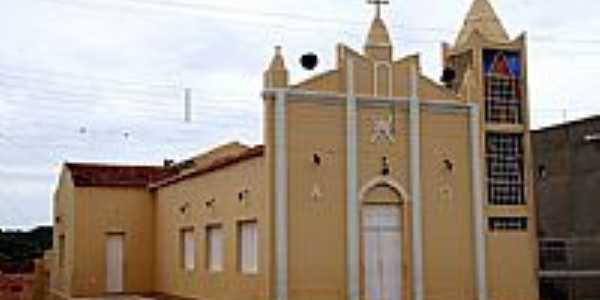 Cacimbas-PB-Igreja Matriz-Foto:Egberto Araújo