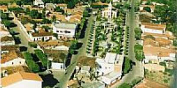 Praça da Matriz vista do alto-Foto:john o fera