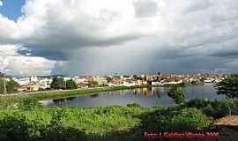Cajazeiras - Cajazeiras-PB-Açude Grande e a cidade-Foto:GaldinoVilante