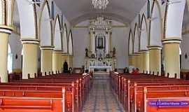 Cajazeiras - Cajazeiras-PB-Interior da Igreja de N.Sra.de F�tima-Foto:GaldinoVilante