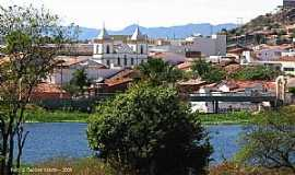 Cajazeiras - Cajazeiras-PB-O Lago e parcial da cidade-Foto:GaldinoVilante