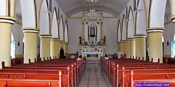 Cajazeiras-PB-Interior da Igreja de N.Sra.de Fátima-Foto:GaldinoVilante
