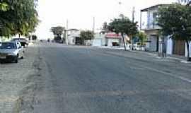 Cajazeirinhas - Rua Principal-Foto:Rodrigo Dantas