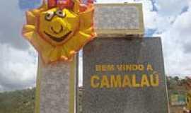 Camalaú - Portal da cidade durante o carnaval em Camalaú-PB-Foto:@ivandrobqueiroz