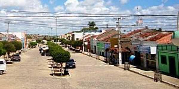 Camalaú-PB-Avenida central-Foto:gazetauniversal.