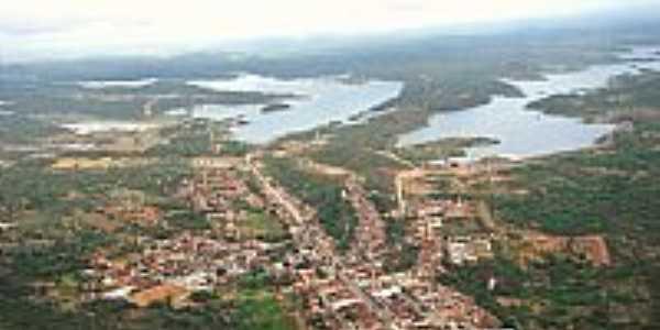 Vista aérea de Camalaú-PB-Foto:@ivandrobqueiroz