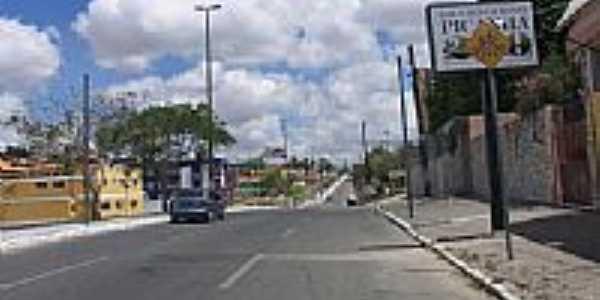 Avenida Manoel Tavares em Campina Grande-PB-Foto:Antonio Carlos Burit…