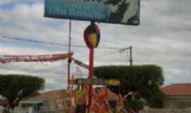 Conceição - placa na entrada da cidade de boas vindas, Por Cinthia Leite