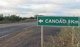 Canoão - Chegando em Canoão-BA-Foto:camacarinoticias.