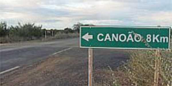 Chegando em Canoão-BA-Foto:camacarinoticias.