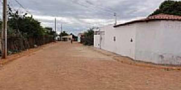 Rua principal de Canoão-BA-Foto:Admirando o Brasil e…