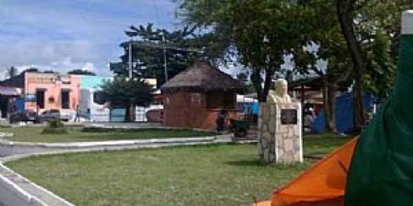 Conde-PB-Praça central-Foto:brunobc