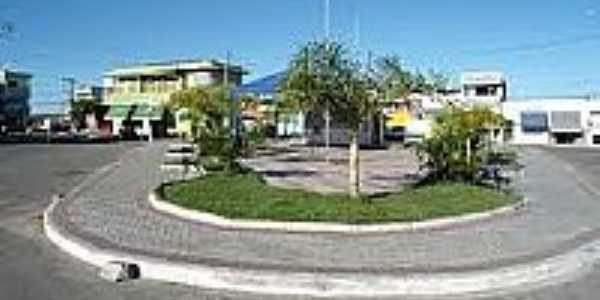 Praça em Cansanção-BA-Foto:cansancao.ba.