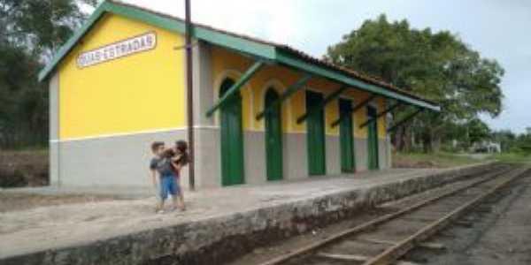 estaçao ferroviária, Por Aldineia