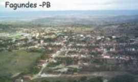 Fagundes - Vista Panorâmica de Fagundes - PB, Por Professor Manoel Felício
