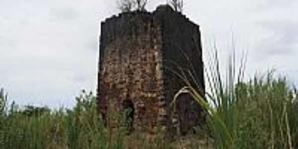 Ruínas do Forte Velho-PB-Foto:Claudia Neu, cedida pelo forista IvoJP