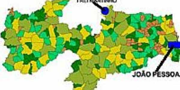 Mapa de Localização - Frei Martinho-PB