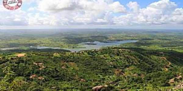 Vista da Pedra de Santo Antonio - Galante PB - Foto: Silvano Silva