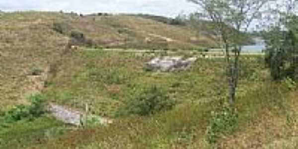 Barragem do Açude José Rodrigues em Galante-PB-Foto:Antonio Carlos Burit…