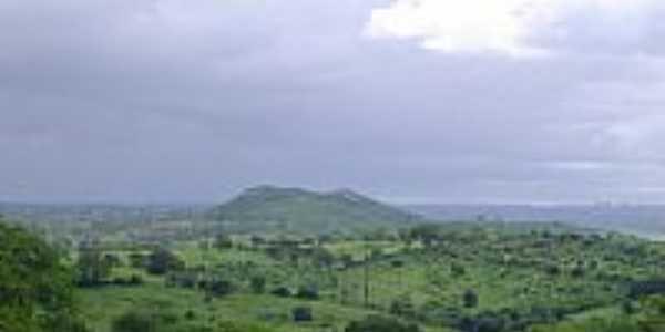 Vista da região de Galante-PB-Foto:Aderbal Nunes