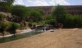 Canudos - Vista de baixo da Barragem de Canudos-BA-Foto:Romulo Sa Rebelo