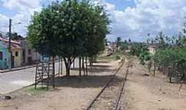 Itabaiana - Itabaiana-PB-Ferrovia passando pela cidade-Foto:Antonio Carlos Buriti