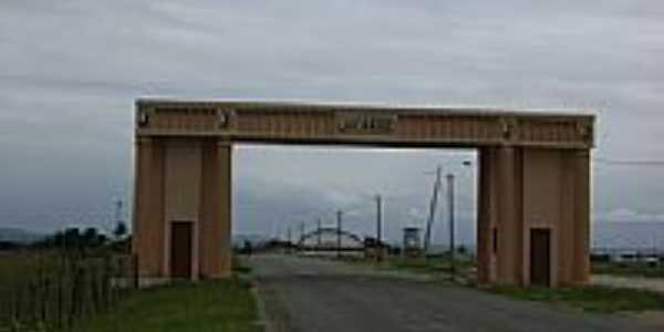 Portal de entrada de Jacaraú-Foto:Cleyton Alexandre