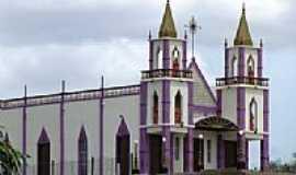 Jericó - Igreja Matriz de Jericó-PB-Foto:Jean Vieira