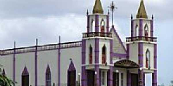 Igreja Matriz de Jericó-PB-Foto:Jean Vieira