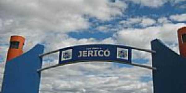 Pórtico de entrada de Jericó-PB-Foto:JOCERLANDIO CALADO