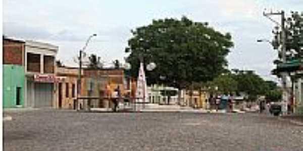 Juarez Távora-PB-Centro da cidade-Foto:Egberto Araújo