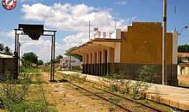 Juazeirinho - Antiga estação ferroviária em Juazeirinho-PB Foto: Valtécio Rufino