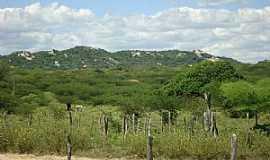 Juazeirinho - Juazeirinho-PB-Vista da Serra do Borge-Foto:jose falcao