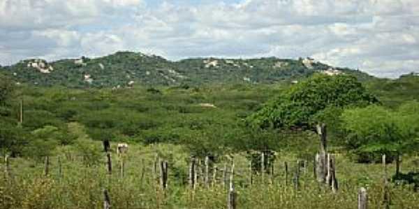 Juazeirinho-PB-Vista da Serra do Borge-Foto:jose falcao