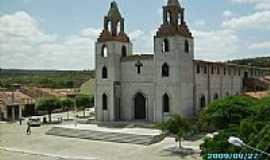Junco do Serid� - igreja em contru��o-Foto:Paulo-cezar