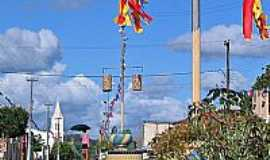 Juripiranga - Rua da cidade-Foto:Sr. Pedroso