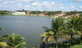 Lagoa de Dentro - Vista do lago e a cidade de Lagoa de Dentro-Foto:Leonaldo