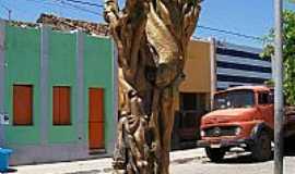 Livramento - Monumento na pra�a em Livramento-PB-Foto:marquinho33