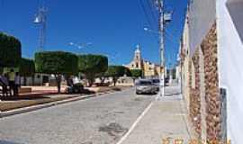 Livramento - Praça da Matriz em Livramento-PB-Foto:Sebastião Coutinho