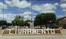 Livramento - Pra�a de Livramento-PB-Foto:paraibamix.