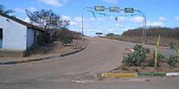 Entrada da cidade de Livramento-PB-Foto:MAZOCA