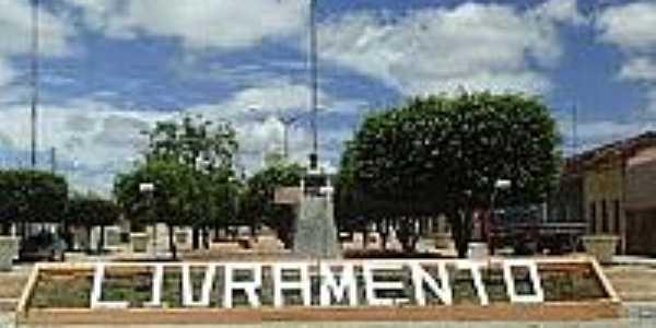 Praça de Livramento-PB-Foto:paraibamix.
